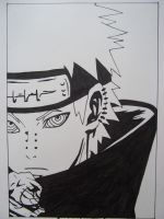 Manga drawings: Pein by DTR2111MANGA