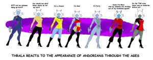 Andorians through the ages by Inspector97