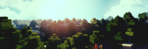 Minecraft  EPIC Panorama by lpzdesign