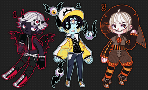 Set Price Spoopys (closed) by Kariosa-Adopts
