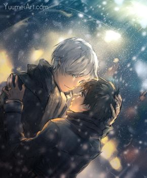 We'll be Warm Tonight by yuumei