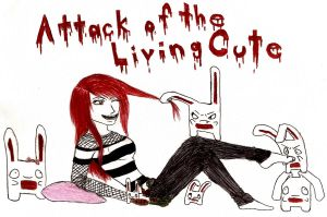 Attack Of The Living Cute by ZombieGirl6