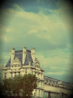 Louvre at first sight. by jessyfofys