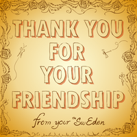 Thank you for your friendship card by sw-eden