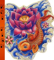 Koi Fish by SketchbookFlavor