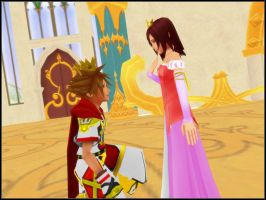 KH MMD - A Prince and his Princess by todsen19