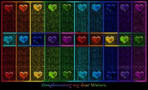 Complimentary my dear Watson by Nameda
