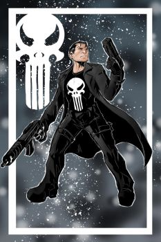 Punisher by Sktchman