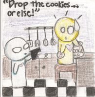 Drop the Cookies Or Else. by arymay2013
