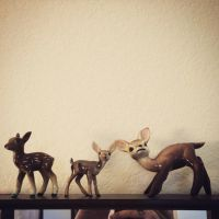 Deer figure by heatherdrefke