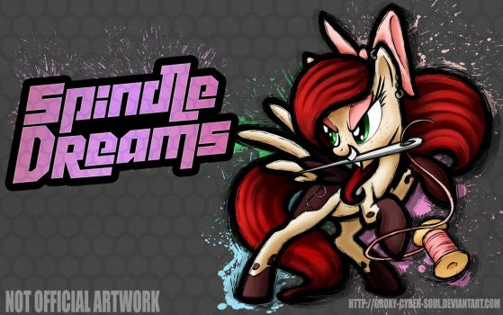 Commission: Fighting is Magic - Spindle Dreams by Groxy-Cyber-Soul
