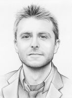 Chris Hardwick Drawing by Olechka01