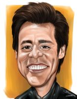 Jim Carrey Caricature by DarDesign