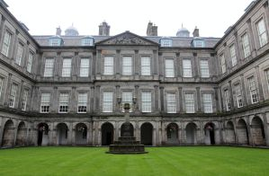 Quadrangle of the Palace of Holyroodhouse by High-Tech-Redneck