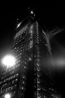City At Night: Tower by darknetcs