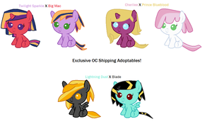 Shipping Adoptables #2 (Open) by wezzie1