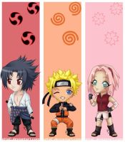 Naruto - Bookmarks by attaC