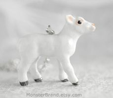 Lamb Necklace by MonsterBrandCrafts