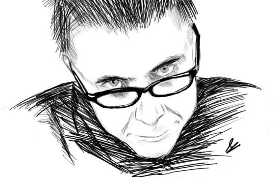 Tony Colman Sketch by Argama