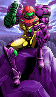 Metroid Zero Mission Ending 1 by s3k94