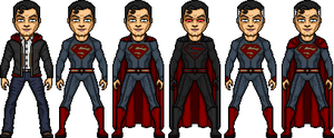 Kal-El/ Clark Kent- Superman of Earth Two by ElephantscagedDC