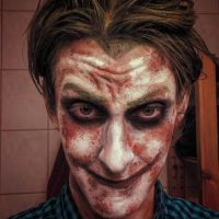 'Batman: Arkham City' Sick Joker Makeup by SebvirartZ