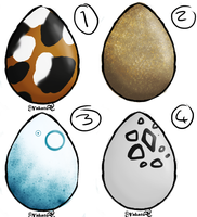 Egg Set 2 - 10 points :CLOSED: by Nat-Adopts
