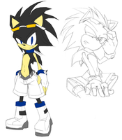 Schultz the Hedgehog by nailthehedgehog