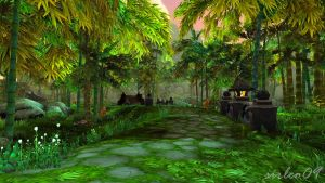 [World of Warcraft] Pei-Wu Forest by SirLeo09