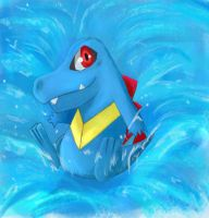 Totodile by Elkix