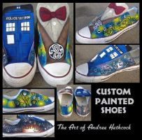 Doctor Who Shoes by vampireheartagram27