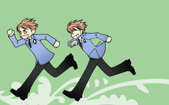 Ouran for Your Wall: Twins by uncertain-certainty