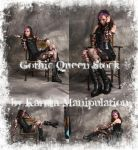 Gothic Queen Stock by Karma-Manipulation