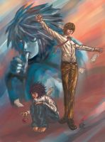 Death Note :: tRAITOr's L.ies by stoic1985
