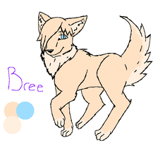 New Oc-Bree Ref Sheet by ninelivestwice