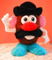 Pipe Cleaner Mr Potatohead by fuzzymutt