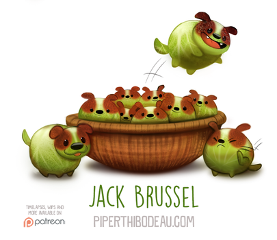 Daily Paint 1561. Jack Brussel by Cryptid-Creations