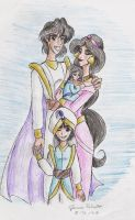 Agrabah's Royal Family by Yahiko-chan