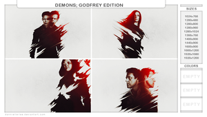 DEMONS: Godfrey Edition by dannielle-lee