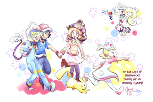 Pokemon XY Cast for Otakon 2016! by CitrusCactus