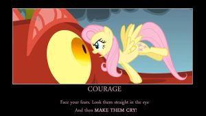 Fluttershy Demotivational by JohnsHowes