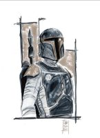 Bounty Hunter Boba Fett by idirt