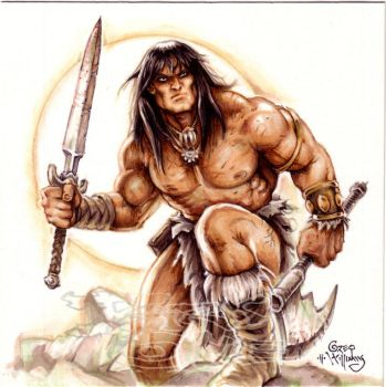 Conan the Cimmerian by PlanetDarkOne