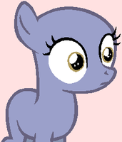 My Little Pony Base - Shocked Filly by xCottonCandy105