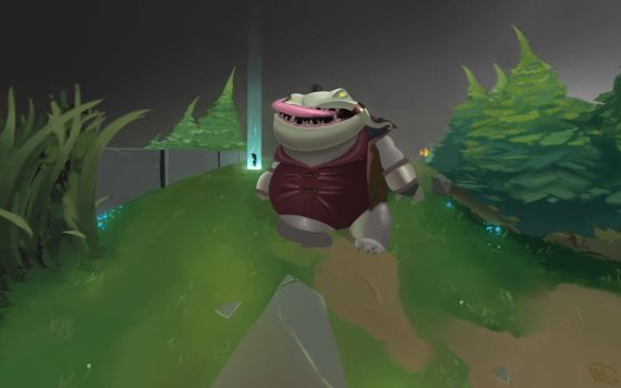 League Of Legends Tahm Kench by MARTO319