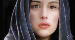 Liv Tyler as Arwen by leenadwish