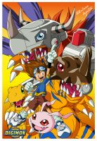 Digimon Tai by AnimeWorldArtProject