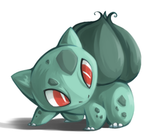 Day 1: Bulbasaur by Karry-Bird