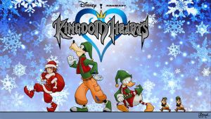 Kingdom Hearts Christmas Fin by DBorod
