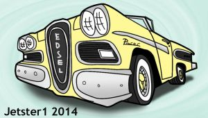 Edsel Pacer Toon by Jetster1